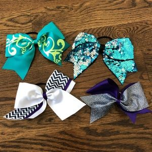 Cheer Bows! 4 styles!